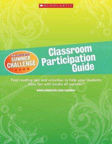 Classroom Participation Guide - Scholastic