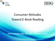 Consumer Attitudes Toward E-Book Reading Paper
