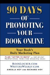 90 DAYS OF PROMOTING YOUR BOOK ONLINE - The Book Locker ...