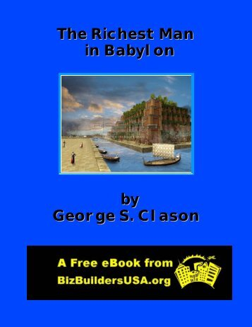 The Richest Man in Babylon by George S. Clason - CCSales.com