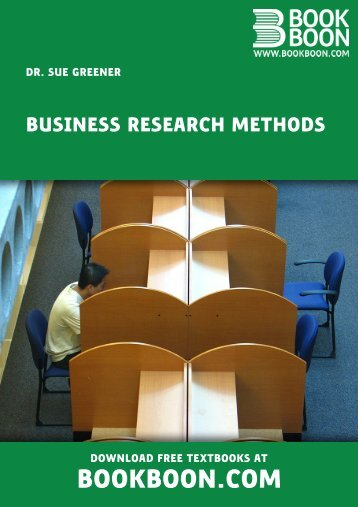 Business Research Methods - Find Documents