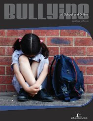 """Bullying at School and Online"" e-Book - Education.com"