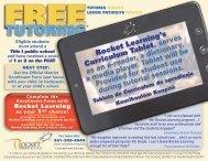 Rocket Learning's Curriculum Tablet , serves as an e-reader, a ...