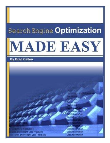 SEO Made Easy - EasyWebTutorials