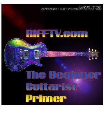 The Beginner Guitarist Primer - Free-eBooks.net