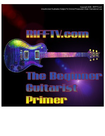 The Beginner Guitarist Primer - Free-eBooks.net
