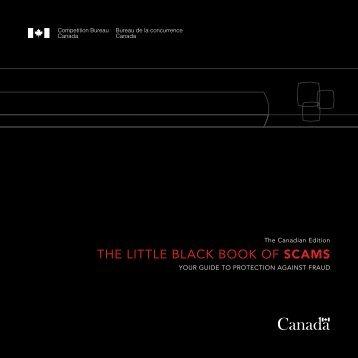 the little black book of scams - Office of the Chief Information Officer