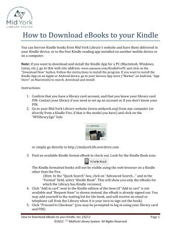 3 Ways to Download Books to a Kindle Fire - wikiHow