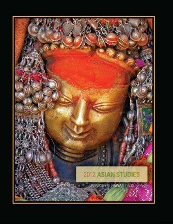Asian Studies 2012 catalog - University of Hawaii Press