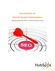 Introduction to Search Engine Optimization - TourismTechnology.com