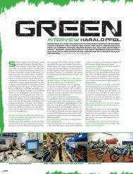 Green Interview Harald Pfeil - Zweirad Pfeil