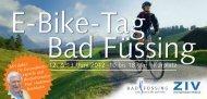 E-Bike-Tag Bad Füssing - ZIV - Zweirad-Industrie-Verband eV