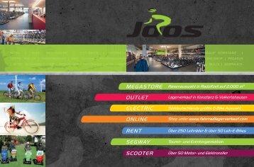 Neu 2011 - Zweirad Joos