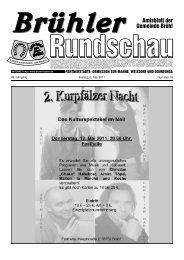 Bruehl 2011 KW18 - Gemeinde Brühl