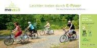 Leichter treten durch E-Power - Landkreis Kitzingen