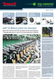 AGT E-Bikes jetzt im Handel - TranzX PST