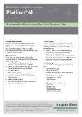 Atmungsaktive Membranfolien - Epurex Films GmbH - Seite 2