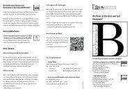 Wie finde ich Literatur zum Fach Biochemie? - Universitätsbibliothek ...