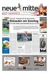 Einkaufen am Sonntag - Stadtmarketing Bad Hersfeld