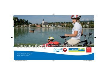 The Danube cycle path in Austria