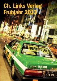 Katalog Frühjahr 2013 aufrufen - Ch. Links Verlag