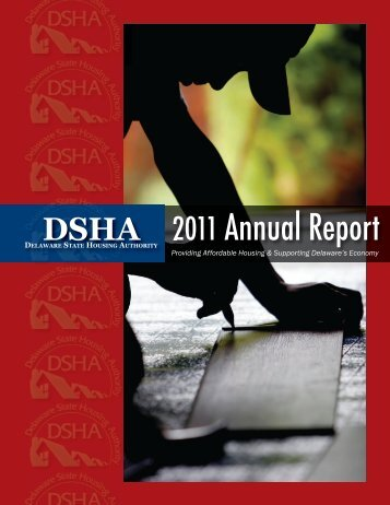 2011 Annual Report - Delaware State Housing Authority