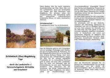 (Elbe) - Magdeburg - Tour durch die ... - Stadt Schönebeck