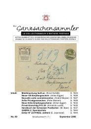 89 - Schweizerischer Ganzsachen-Sammler-Verein