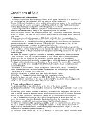 General Standard Terms and Conditions (PDF) - EES  Equipment ...