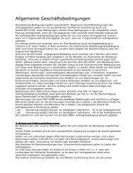 Allgemeine Geschäftsbedingungen - EES Equipment Exchange ...