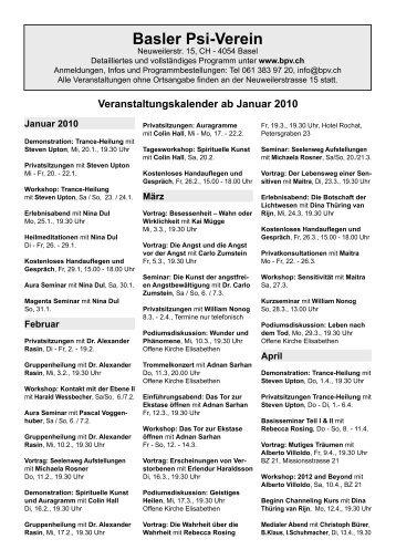 Kalender ab Januar 2010.indd - Basler Psi-Verein