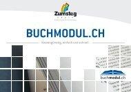 Broschüre buchmodul.ch - Zumsteg Druck AG
