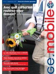 Genève Mobile 3/2007 - Reisen & Freizeit TCS
