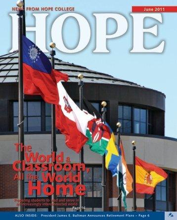 June 2011 - Hope College