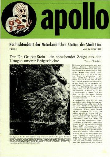 Nachrichtenblatt der Naturkundlichen Station der Stadt Linz