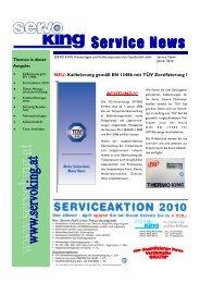 Service News 01 2010.pdf, Seiten 1-4 - Servo King Klimaanlagen