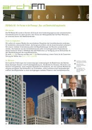 Informationsblatt - fm media ag