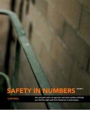 Safety in Numbers. Pt 1 - Nanci Tangeman