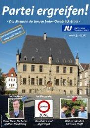 Partei ergreifen! - JU Kreisverband Osnabrück-Stadt