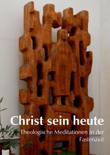 Christ sein heute - FreiDok
