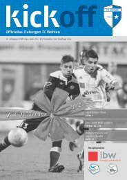 Frohe Weihnachten 2012 - FC Wohlen