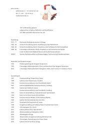 Detaillierte Biografie - Anita Mendler