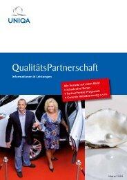 QualitätsPartnerschaft - Infos und Leistungen - Uniqa