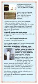 Die Umra (Faltblatt) - Way to Allah - Seite 5