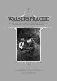 WALSERSPRACHE - The four main objectives of the Alpine Space ...