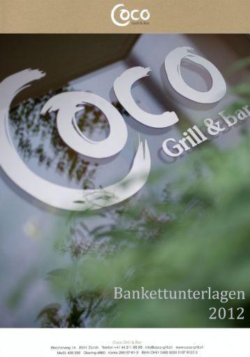 Rotweine - Coco Grill & Bar