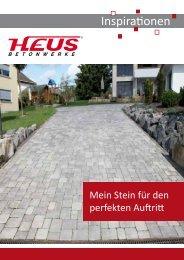 Inspirationen PDF - Heus Betonwerke