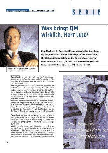 S E R I E - ERC Lutz Business Coaching