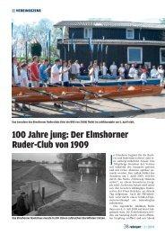 100 Jahre jung - Elmshorner Ruder-Club von 1909 eV