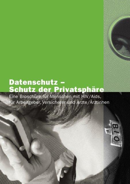 AHS_09 Datenschutz - Aids-Hilfe Schweiz